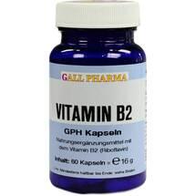 Produktbild Vitamin B2 GPH 1,6 mg Kapseln