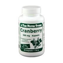 Produktbild Cranberry 500 mg Kapseln