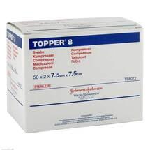 Produktbild Topper 8 Kompresse steril 7,5x7,5cm