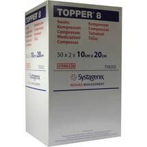 Topper 8 Kompresse steril 10x20 cm