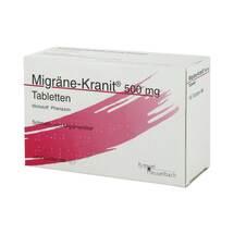 Produktbild Migräne Kranit 500 mg Tabletten