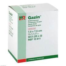 Produktbild Gazin Kompressen 7,5x7,5cm 8