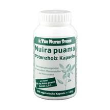 Muira Puama 500 mg Extrakt Kapseln