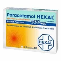 Paracetamol 500mg Hexal bei Fieber und Schmerzen Tabletten
