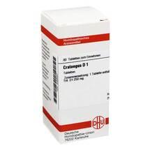 Produktbild Crataegus D 1 Tabletten