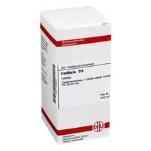 Produktbild Cantharis D 6 Tabletten