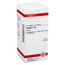 Produktbild Cantharis D 4 Tabletten