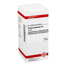 Thallium sulfuratum D 6 Tabletten