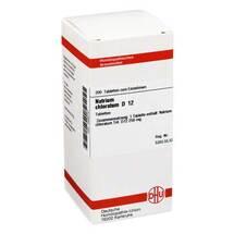 Natrium chloratum D 12 Tabletten