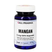 Produktbild Mangan 5 mg GPH Kapseln
