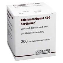 Produktbild Calciumcarbonat 500 Kautabletten