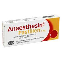 Produktbild Anaesthesin Pastillen
