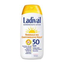 Ladival normale bis empfindliche Haut Lotion LSF 50