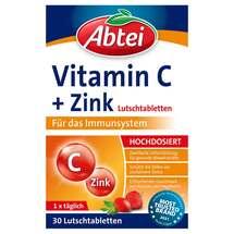 Abtei Vitamin C plus Zink Lutschtabletten