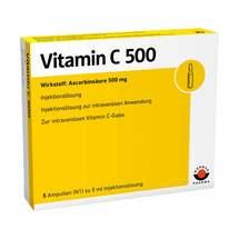 Produktbild Vitamin C 500 Ampullen