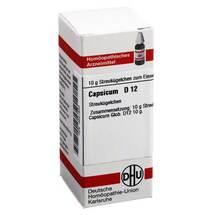 Produktbild Capsicum D 12 Globuli