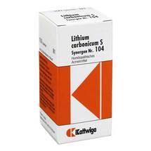Produktbild Synergon 104 Lithium carbonicum S Tabletten