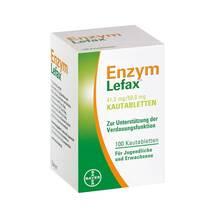 Produktbild Enzym Lefax Kautabletten