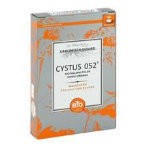Produktbild Cystus 052 Bio Halspastillen Honig Orange
