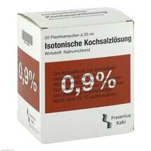 Produktbild Kochsalzlösung 0,9% Plastikampulle Fresenius