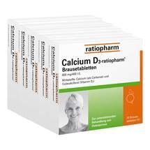 Produktbild Calcium D3 ratiopharm Brausetabletten