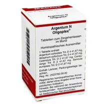 Produktbild Argentum N Oligoplex Tabletten