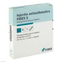 Produktbild Injectio antiasthmatica Fides S Ampullen