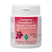 Produktbild Cranberry Preiselbeer + C Kapseln