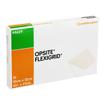 Opsite Flexigrid transparent Wund