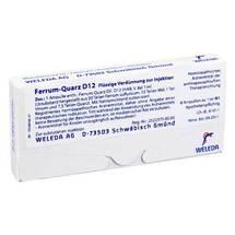 Ferrum Quarz D 12 Ampullen