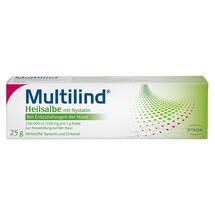 Produktbild Multilind Heilsalbe mit Nystatin und Zinkoxid