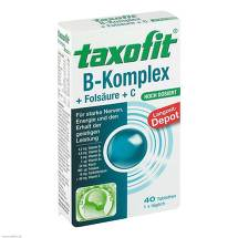 Taxofit Vitamin B Komplex Depot Tabletten