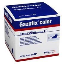 Produktbild Gazofix color Fixierbinde bl