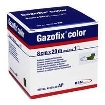 Gazofix color Fixierbinde grün 47335 20mx8cm
