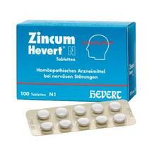 Produktbild Zincum Hevert N Tabletten