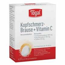 Produktbild Togal Kopfschmerz-Brause + Vit. C Brausetabletten