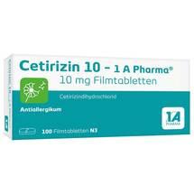 Cetirizin 10 1A Pharma Filmtabletten