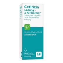 Produktbild Cetirizin Lösung 1A Pharma