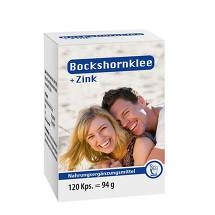 Produktbild Bockshornklee + Zink Kapseln