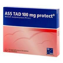 Produktbild ASS TAD 100 mg protect magensaftresistent Filmtabletten