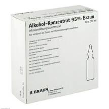 Produktbild Alkohol 95% Infusionslösungskonzentrat