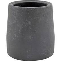 Krückenkapsel 28mm schwarz Stahleinl.für Gehgestelle