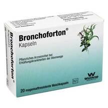 Produktbild Bronchoforton magensaftresistente Kapseln