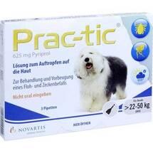 Produktbild Prac tic für große Hunde 22 - 50kg Einzeldosispipetten