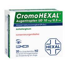 Produktbild Cromohexal UD EDP 0,5 ml Augentropfen