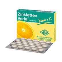 Produktbild Zinkletten Verla Orange Lutschtabletten