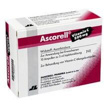 Produktbild Ascorell Injektionslösung