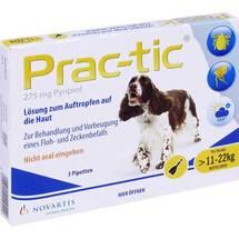 Prac tic für mittlere Hunde 11 - 22kg Einzeldosispipetten
