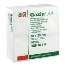 Produktbild Gazin Kompressen 10x20cm 12f