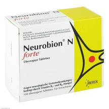 Produktbild Neurobion N forte überzogene Tabletten